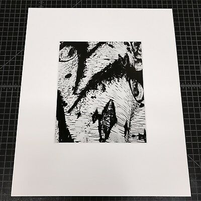 """BRETT WESTON """"Abstraction, 1968"""" 8""""x10"""" Silver Gelatin Print - Signed/Dated"""