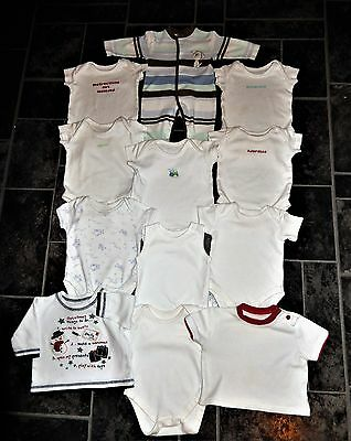 12 Piece Bundle For Baby Boy Age 0-3 Month Vgc