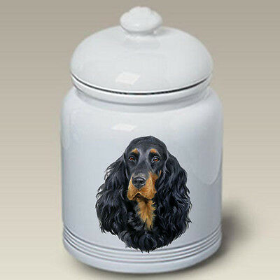 Ceramic Treat Cookie Jar - Gordon Setter (LP) 45163
