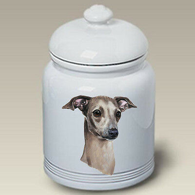 Ceramic Treat Cookie Jar - Italian Greyhound (LP) 45065