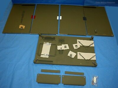 Chest Insert Mounting Unit Wooden Table Military Dental Set