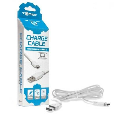 New USB Charge Cable for Nintendo Wii U GamePad Controller