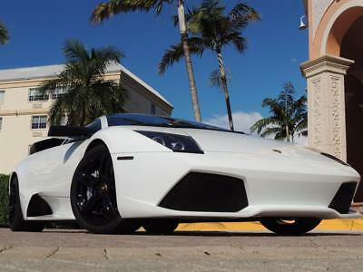 2008 Lamborghini Murcielago LP640 2008 Lamborghini Murcielago LP640 Bianco Isis on Tan every service documented