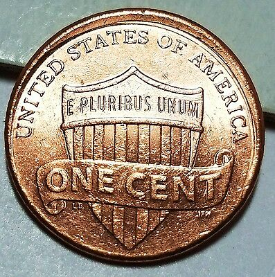 2016 - 10% Off Center + Tilted Collar Lincoln Shield Cent Mint Error Lot #2554