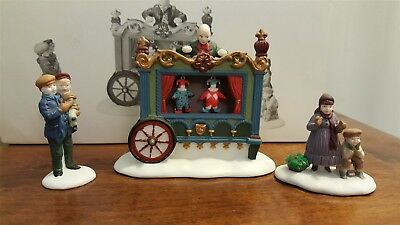 Dept 56 Dickens Village Series 1992 THE OLD PUPPETEER 58025 RETIRED 1995