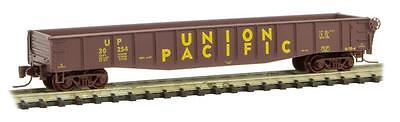 NIB Z MTL #52200291 50' Gondola w/Drop Ends Union Pacific #30254