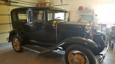 1930 Ford Model A  Dads 1930 Model A Ford Town Car  great running condition