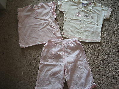 Ted Baker & Coccobirillo   Baby Girls 3Pc Set,18 Month,exc.c