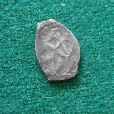 Charles Ii Mexican 1/2 Real Cob Silver Coin