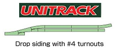 Kato 20-863-1, N Scale UniTrack V4 Switching Siding Set, 208631