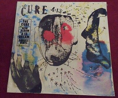 The Cure 4:13 Dream 2LP vinyl Mint sealed New original issue.