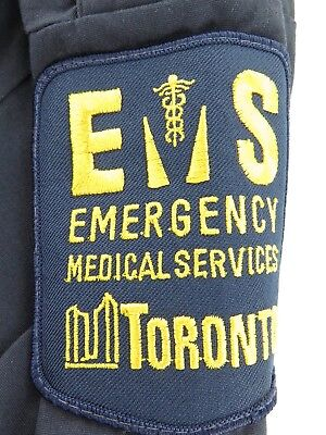 .vintage Toronto, Canada Ems Emergency Medical Services Shirt.