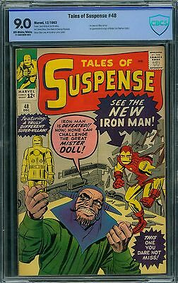 Tales of Suspense 48 CBCS 9.0 - OW/W Pages