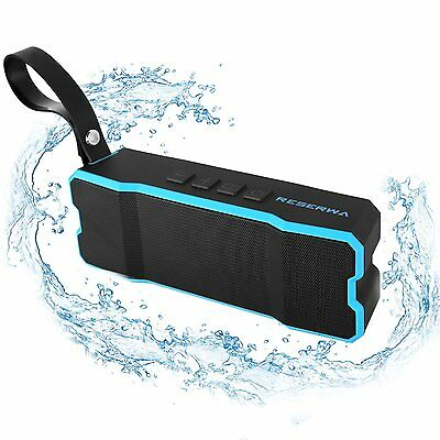 Waterproof Bluetooth Speaker - Durable Portable Outdoor Wireless