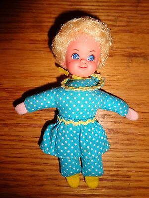 "Mrs Beasley Little Doll 4 1/2"" Family Affair 1968 Mattel Hong Kong Cute!"