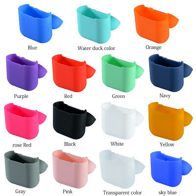 Soft Silicone Gel Case Cover Skin Sleeve For Apple AirPods Earphones Shockproof