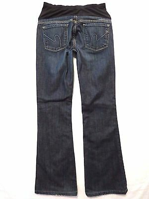 Citizens of Humanity size 28 x 30 Kelly boot cut Low rise waist Maternity jeans