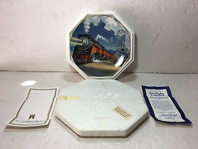 The Hamilton Collection Starlight Limited Plate Southern Pacific Daylight Exc C9