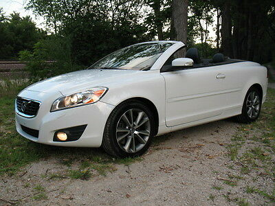2011 Volvo C70 Base Convertible 2-Door LQQK! 2 Owner Texas Arctic White IceColdAC Serviced Brakes Tires Timing Belt NR!