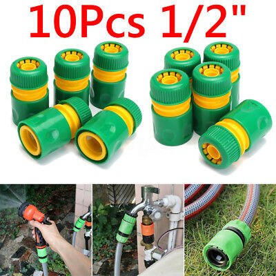 """10 1/2"""" Garden Tap Water Hose Pipe Connector Quick Connect Adapter for Watering"""