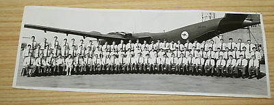 RAAF Group Photo In Front Of A4 299 Plane