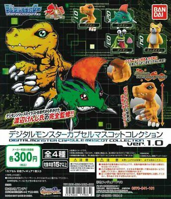 Digimon Digital Monsters Capsule Mascot Collection ver 1.0 Completed Set 4pcs