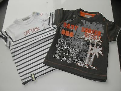 "Lot de 2 tee-shirts ""ORCHESTRA"", taille 67 cm (6 mois)"