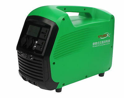 110V DC-AC Power Source 1000W Hand-Carry Power Generator Energy Storage System