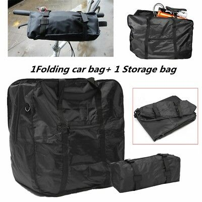 Mountain Bicycle Bike Folding Carrier Bag Carry Cover for Dahon 14''-20'' Holder