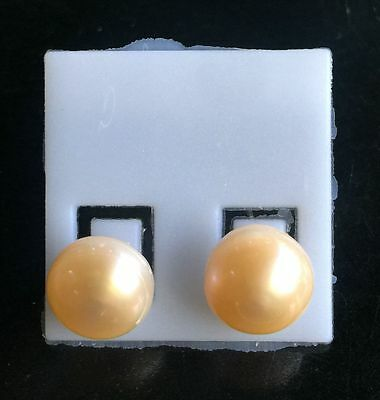 Freshwater Pearl Small 100% Real Natural Silver 5-13mm Jewelry Stud Earrings