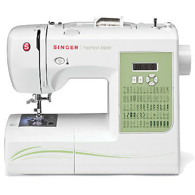 SINGER FASHION MATE 40 Stitch Computerized Sewing Machine W Awesome Singer Fashion Mate Sewing Machine 5500