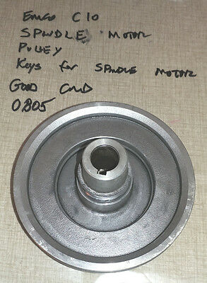 Emco Compact 10 Lathe Spindle Motor Pulley  0805