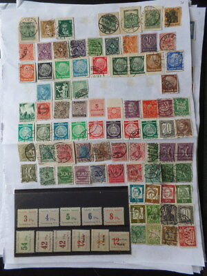 Eastern Europe, Germany, Poland, Hungary, Romania 13 Pages Mint / Used