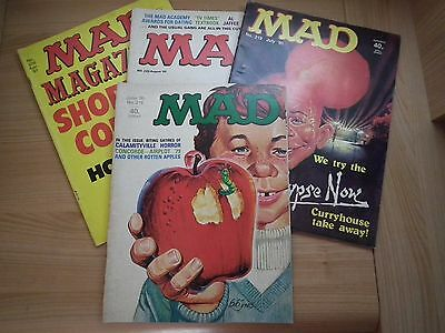 4 x Mad Magazines - Issues 218, 219, 220, 228 - 1980/1981