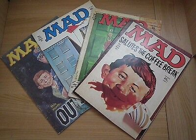 4 x Mad Magazines - Issues 229, 230, 233, 239 - 1981/1982