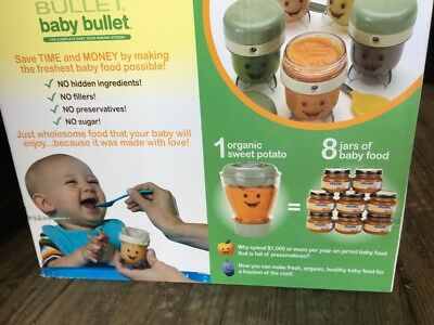 Baby Bullet Food System With Turbo Steamer Cad 26 52