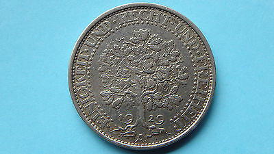 Allemagne Germany 5 Reichsmark 1929 A Argent Silver +++++