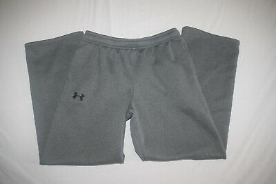 Under Armour Storm Cold Gear Sweat Pant Youth L Gray