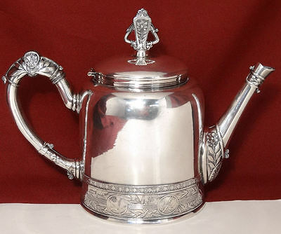Victorian Pairpoint EASTLAKE Aesthetic Medallion Coffee Can Teapot Pot