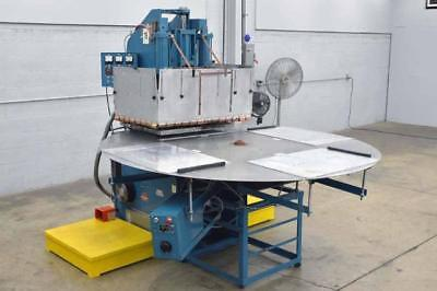 Thermatron 15Kw RF Welder Sealer 220Vac 3 Ph. 80 Amp 4 Station Turntable Camco