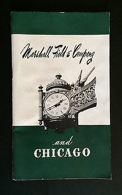 1946 Marshall Field & Company And Chicago Booklet