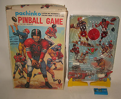 1970's Japan Shinsei Football Pachinko Game Battery-op NM in Box #BH31