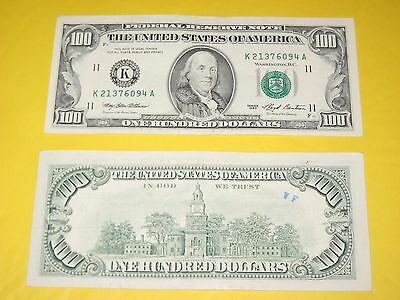Federal Reserve Note One Hundred Dollar Bill 1993