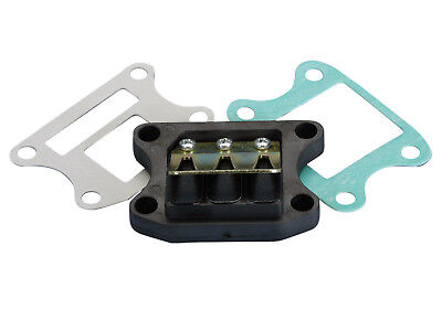REED VALVE BLOCK Polini carbon for PEUGEOT Standing Speedfight Buxy Trekker 50