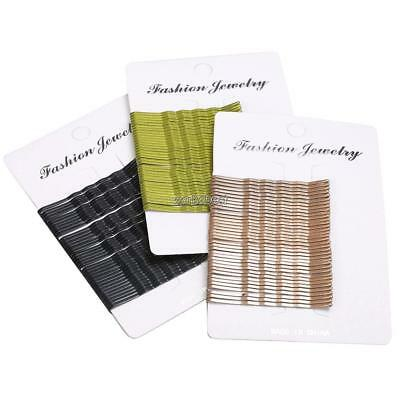 Card of 36 Hair Grips Blonde Bobby Pins Grips Slides Clips