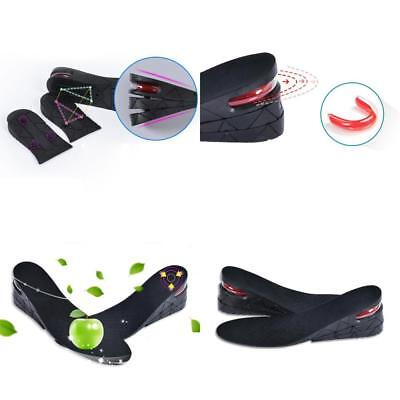 Pair Shoe Lift Height Increase Heel Lifts Insoles Taller Air Bubble Cushion UK