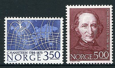 Bicentenary Of Birth Of Christopher Hansteen 1984 - Mnh Set Of Two (Bl310-Rr)