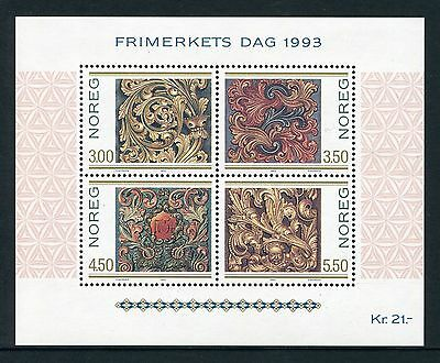Carvings: Stamp Day 1993 - Mnh Minisheet  (Bl311-Rr)