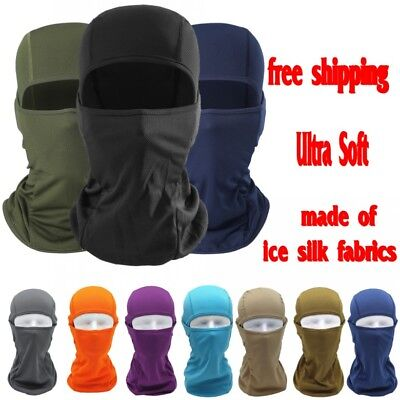 Balaclava Tactical Motorcycle Cycling Hunting Outdoor Ski Full Face Mask Helmet