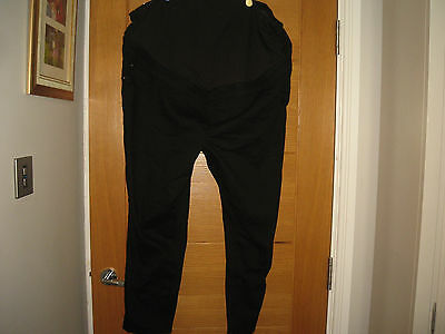 Nwt New Look Maternity Over Bump Black Jeggings,uk 20,eur 48,l 24,£19.99
